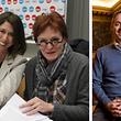 Mit Georges Mischo übernimmt am Freitag erstmals ein CSV-Politiker die Präsidentschaft einer Escher Ratssitzung. Er folgt auf die LSAP-Vertreterinnen Lydia Mutsch (1.v.l.) und Vera Spautz.