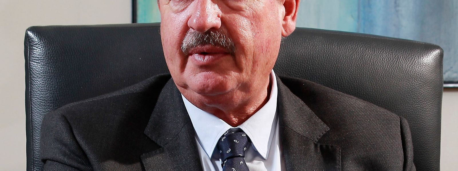 O ministro dos Negócios Estrangeiros do Luxemburgo, Jean Asselborn.