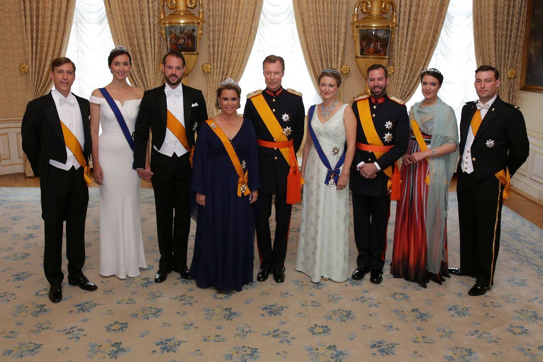 Die großherzogliche Familie hatte zum Abschluss des Nationalfeiertages 2018 zahlreiche Ehrengäste geladen.