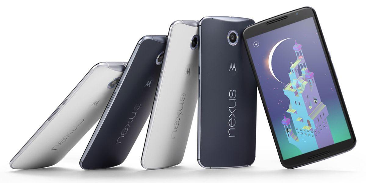Das Google Nexus 6 hat eine Bildschirmdiagonale von 5,9 Zoll.
