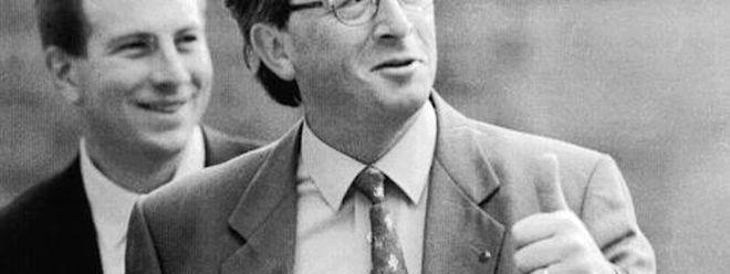 """Den EU-Gipfel von 1996 verließ Juncker als """"Held von Dublin""""."""