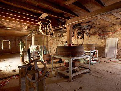 Die alte Mühleneinrichtung wird nach der Restaurierung wieder eingebaut und pädagogischen Zwecken dienen.