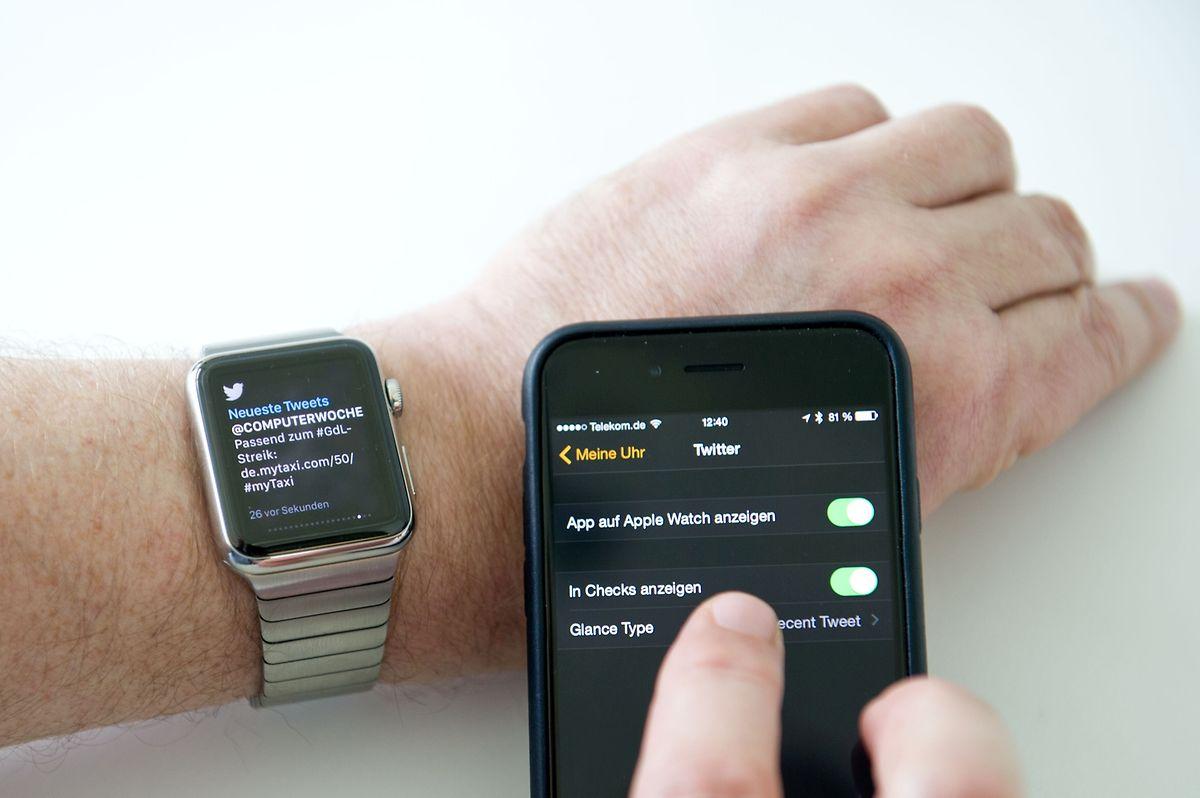 Welche App darf was auf der Apple Watch? Für die Ersteinrichtung sollte man sich etwas Zeit nehmen, damit es nicht ständig am Handgelenk vibriert.