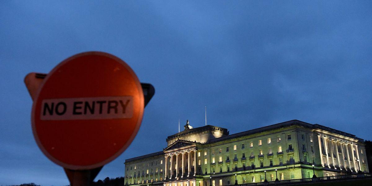 Ins Belfaster Parlament Stormont werden bald neue Parlamentarier einziehen.