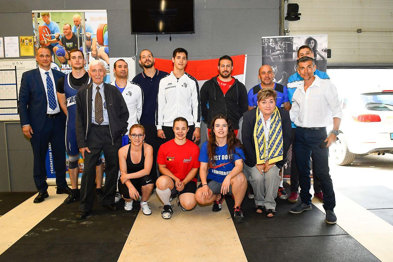 Les participants et les juges des Championnats nationaux 2017.