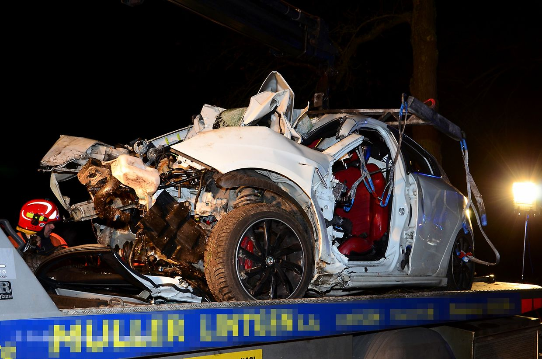Le chauffeur est encore décédé sur les lieux de l'accident