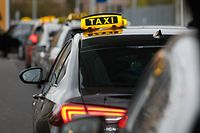 Wirtschaft, Lokales, Illustration, Findel, Taxi, Taxis, Abholdienst  Foto: Anouk Antony/Luxemburger Wort