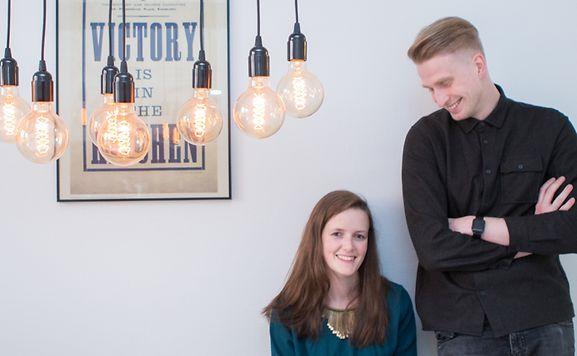 Seit neun Jahren sind Isabelle Oth und Anton Stepine ein Paar.