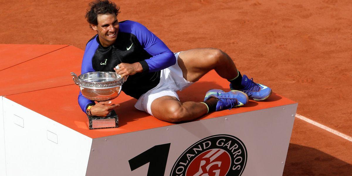 Et de dix pour Rafael Nadal, ogre de la terre battue!