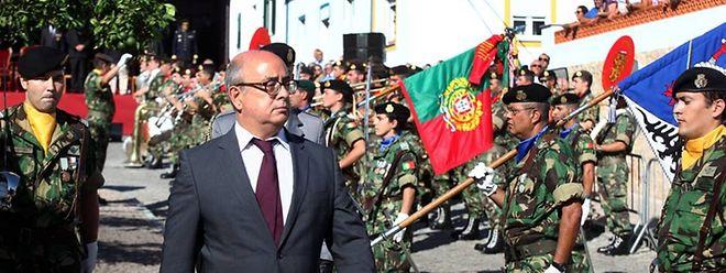 O ministro da Defesa português, Azeredo Lopes