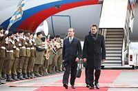IPO.Visite officielle au Luxembourg du Premier ministre de la Fédétation de Russie,Dimitri Medvedev.Foto: Gerry Huberty/Luxemburger Wort