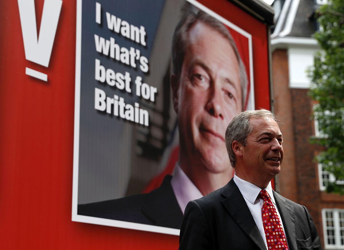 Top-Ten-Platzierung: Brexit-Initiator Nigel Farage sichert sich als Europapolitiker lukrative Nebeneinkünfte.