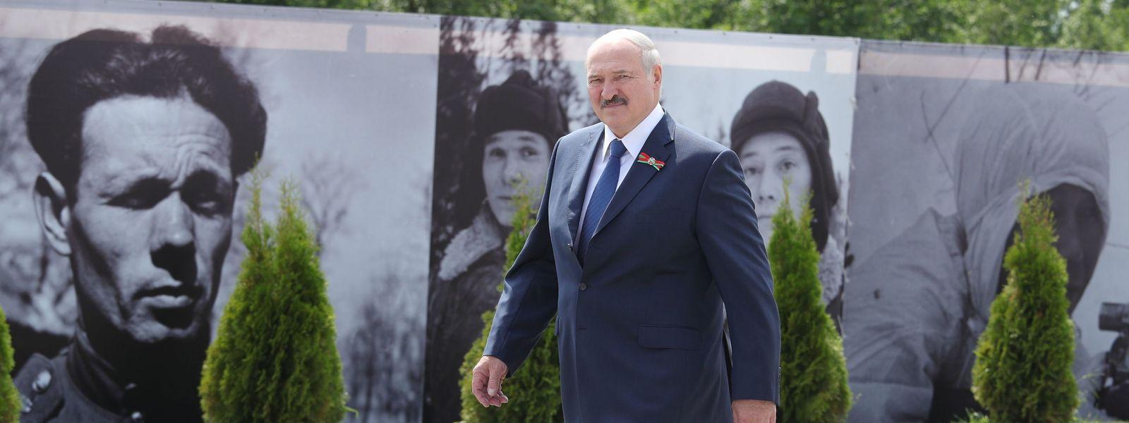 Weissrusslands Präsident Alexander Lukaschenko kandidiert für eine sechste Amtszeit.