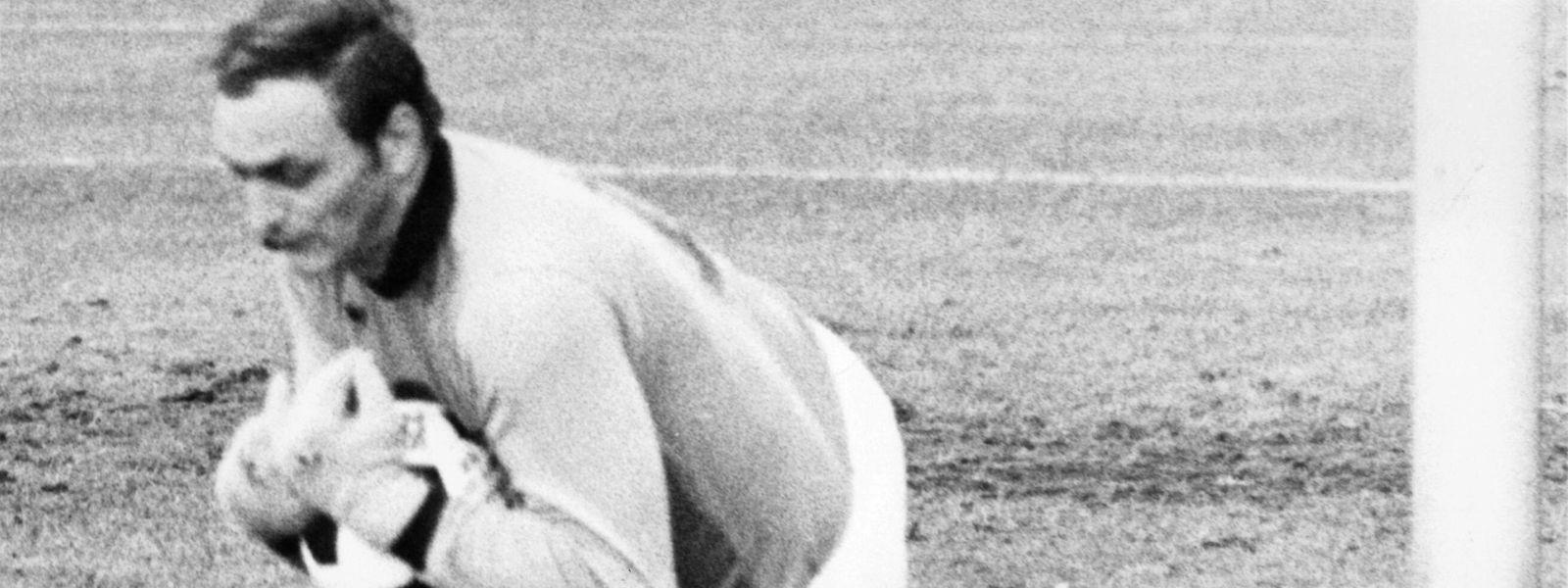 René Hoffmann a gardé à 343 reprises les filets de la Jeunesse en championnat et 35 fois ceux de la sélection