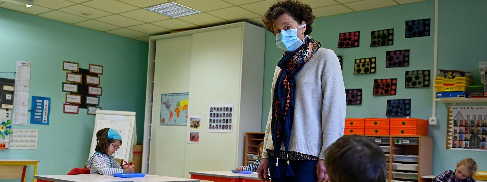Au dernier relevé, 50 enseignants ont été infectés par le covid la semaine dernière.
