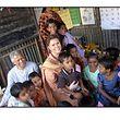 Seit 20 Jahren ist Großherzogin Maria Teresa an der Seite von Friedensnobelpreisträger Muhammad Yunus engagiert.