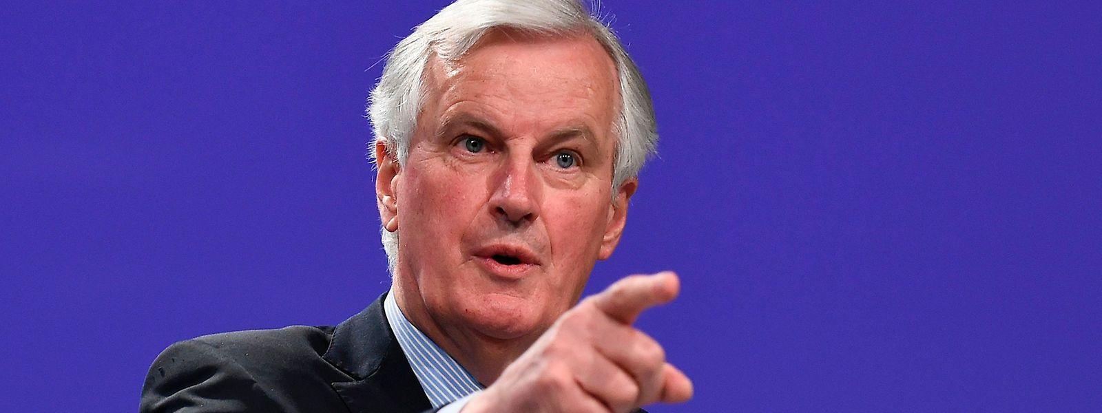 Michel Barnier stellt sich auf schwierige Gespräche ein.