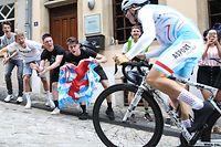 Luxemburger Supporter feuern Cédric Pries (Team Lëtzebuerg - 166) an / Cyclisme Luxemburg Prologue / 05.06.2019 / Skoda Tour de Luxembourg / Ville de Luxembourg / Foto: Yann Hellers