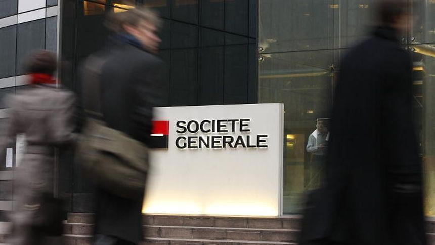 La banque française Société Générale est citée dans le rapport.