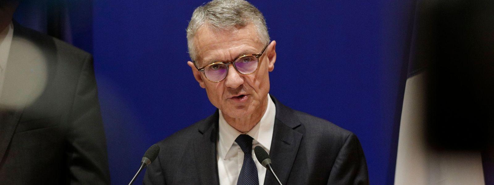 Anti-Terror-Staatsanwalt Jean-Francois Ricard.