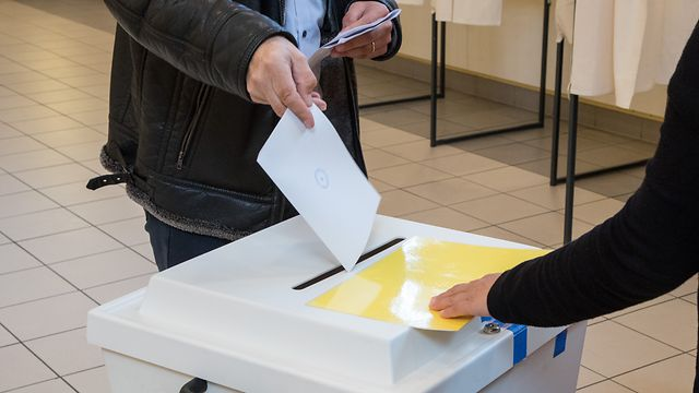 8.10. Gemeindewahlen 2017 / Wahlen / Bettange-Mess / Gemeinde Dippach / Allgemeine Wahlfotos Foto:Guy Jallay