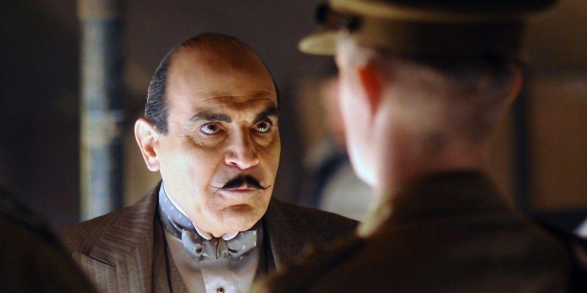 Le détective privé Hercule Poirot est né de l'imagination fertile d'Agatha Christie. Il apparaît dans 33 de ses romans et 51 nouvelles.