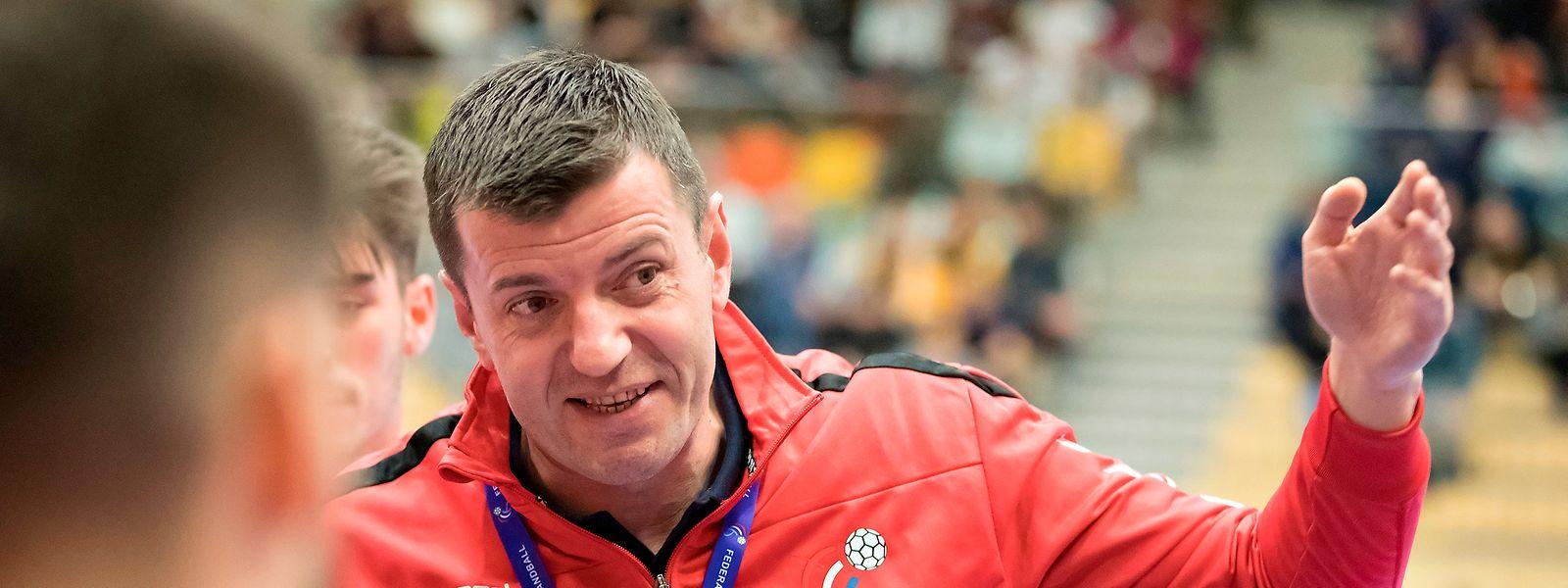 Trainer Nikola Malesevic muss noch an einigen Stellschrauben drehen.
