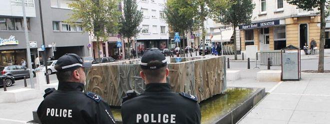 Brennpunkt Rue de Strasbourg: Der Platz vor der Schule soll in den kommenden Wochen komplett umgestaltet werden.