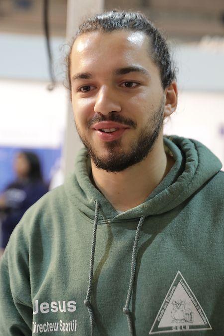 Der 23-jährige Ben Wirth will mit seinem Studentenverein Präsenz zeigen, damit viele nach Brüssel zum Studieren kommen.