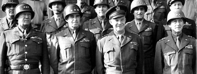 Die US-Generäle im Zweiten Weltkrieg.