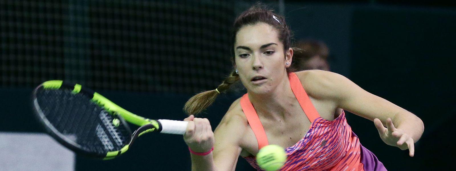 Für Eléonora Molinaro reichte es nicht zum Turniersieg.