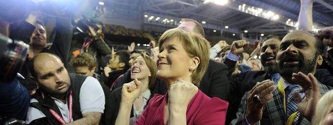 Leader du Scottish National Party (SNP), Nicola Sturgeon