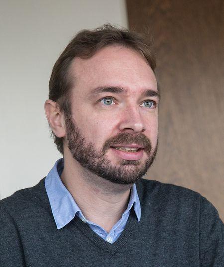 Philippe Genot, manager du cluster bois chez Luxinnovation.