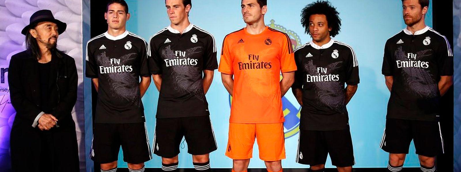 Xabi Alonso, Marcelo, Iker Casillas, Gareth Bale et James Rodriguez , cinq des samouraïs d'un Real qui fait peur à tous le monde