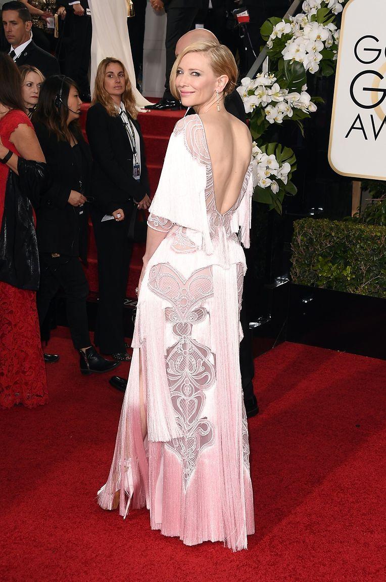 Im Stil der 20er Jahre: Cate Blanchett in Givenchy.