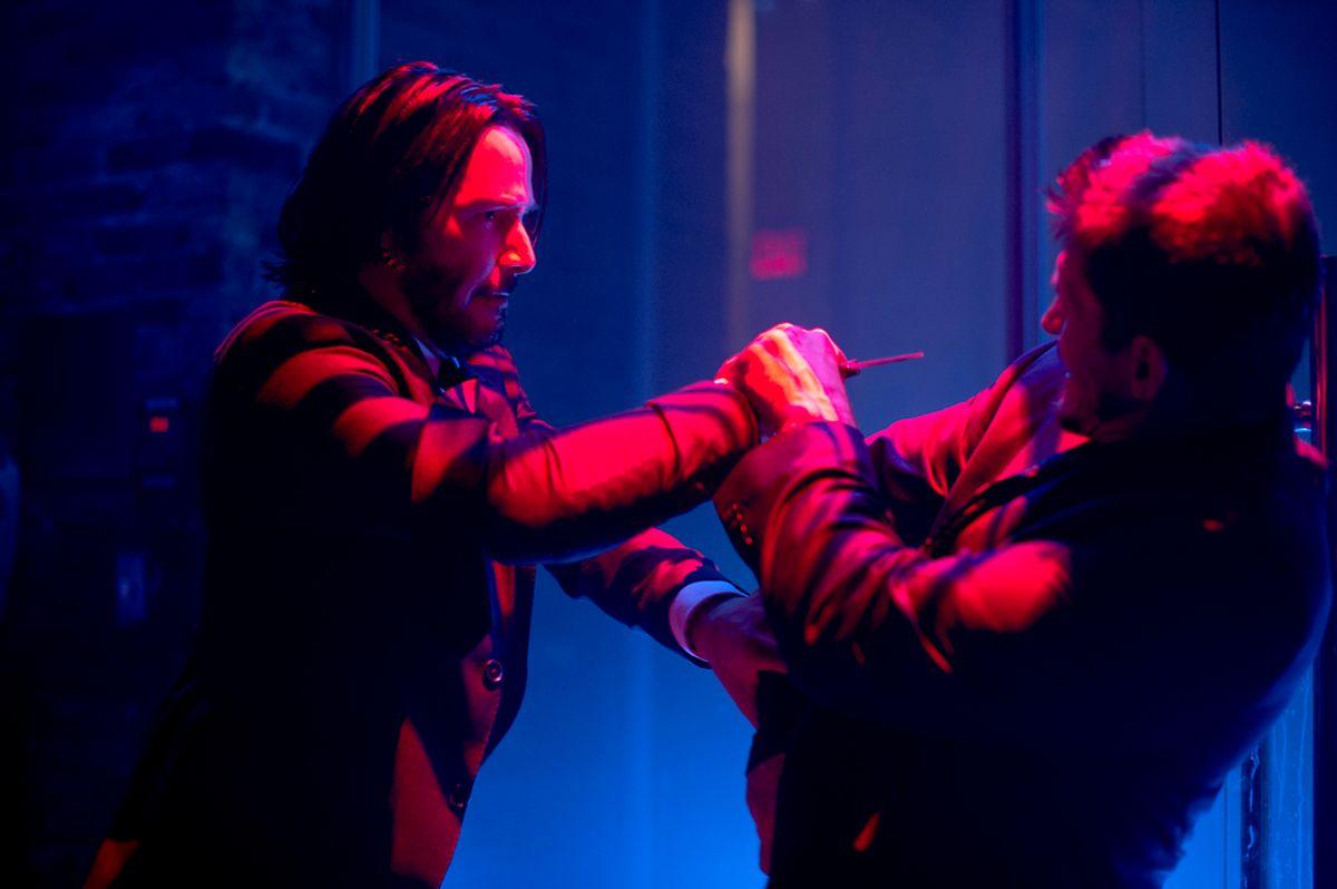 John Wick (Keanu Reeves, r.)