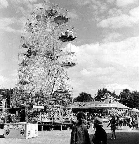 La grande roue en 1954