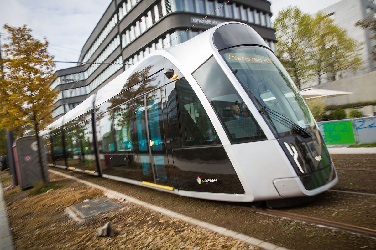 Passengers will be able to board the tram starting December 10. Photo: Lex Kleren