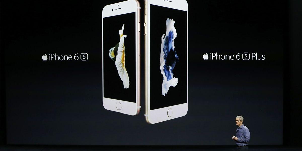 Tim Cook präsentierte das neue iPhone 6s und das 6s Plus.