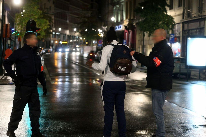 Vaste action de police à Bruxelles.