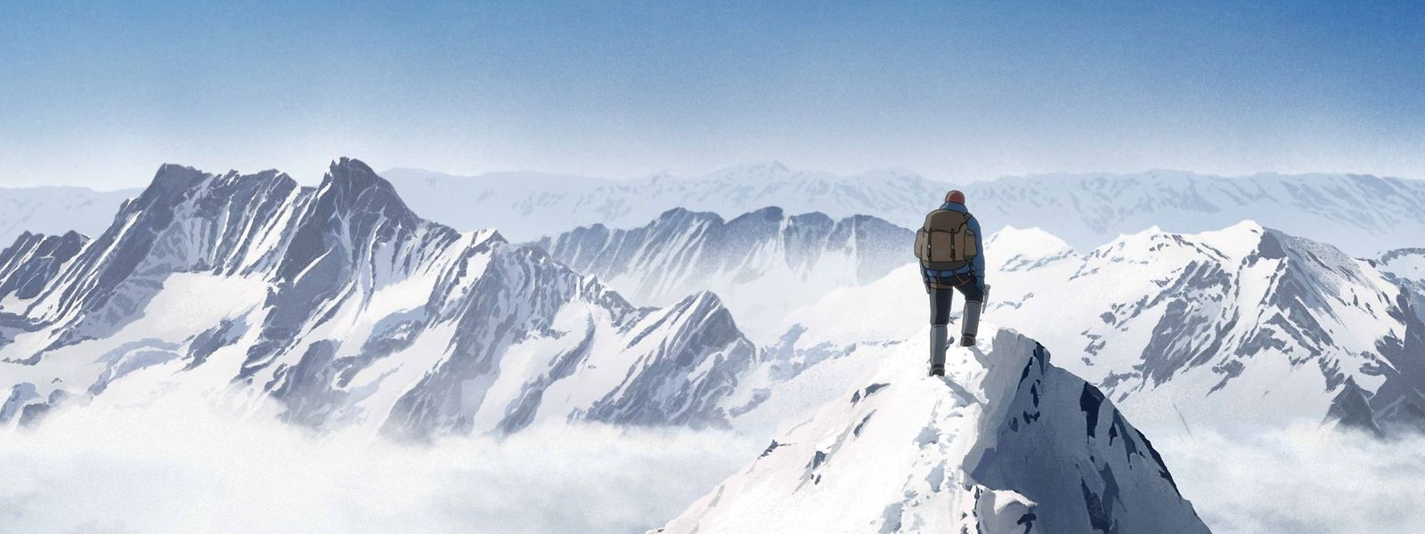 """Dort, wo Live-Action-Filme die Produktionskosten sprengen würden, schafft es der Animationsfilm hin: Bis auf die Spitze des Mount Everest. """"Le Sommet des Dieux"""" ist ein bildgewaltiges Epos."""