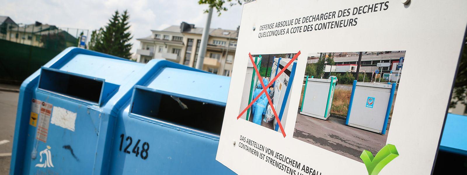 479 Tonnen illegal entsorgten Mülls sammelte der hauptstädtische Hygienedienst im vergangenen Jahr ein.