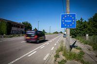 Grenziwwergang zu Stengefort  - Foto: Pierre Matgé/Luxemburger Wort