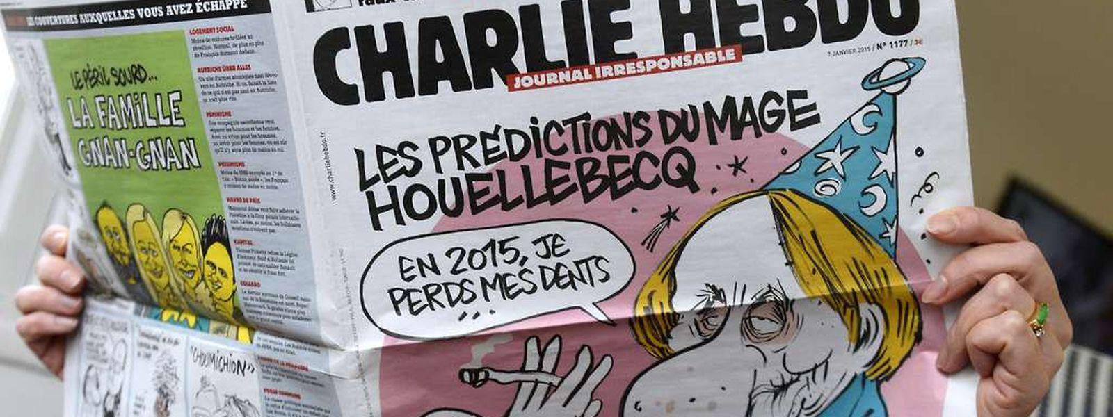 Auflage Eine Million Exemplare Charlie Hebdo Kommt Nachste Woche Heraus