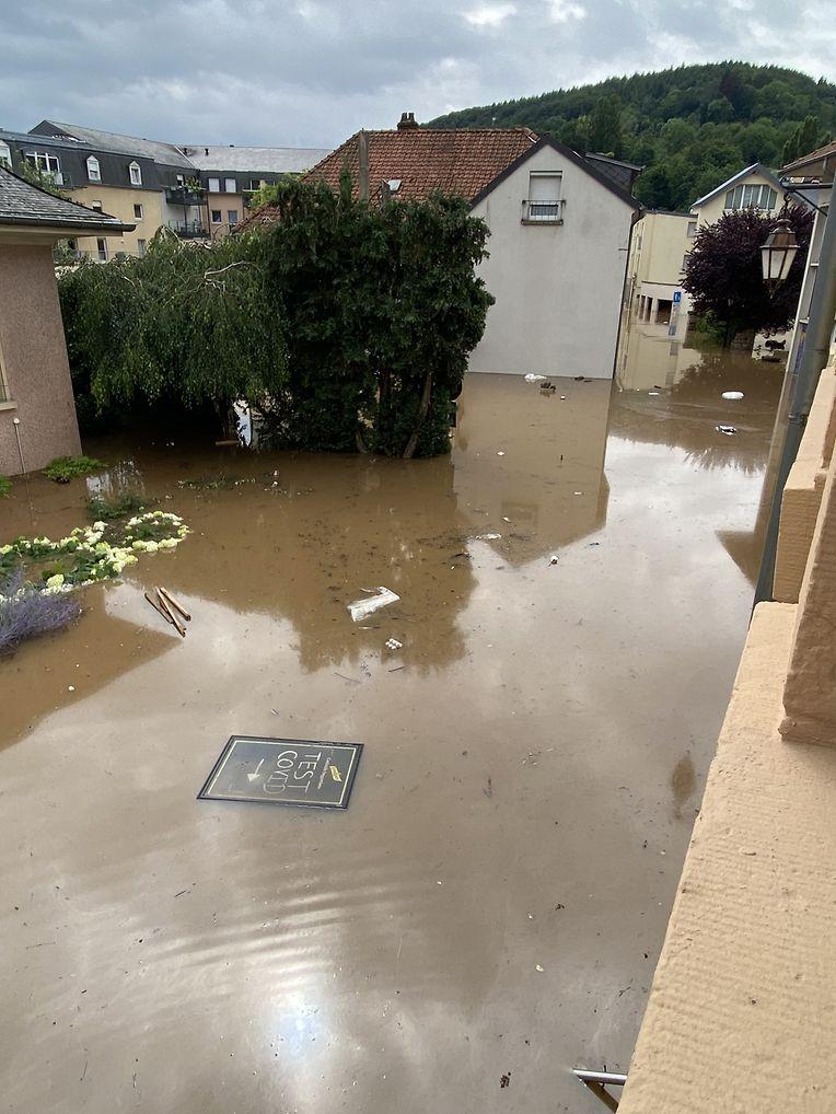 Hochwasser in Echternach, evakuierung / Foto: Kristina Wittal