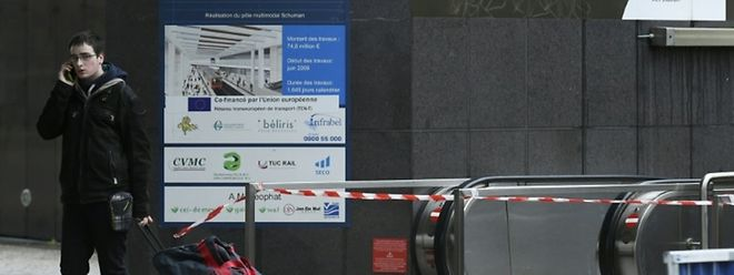 Le métro bruxellois est fermé à la circulation ce samedi