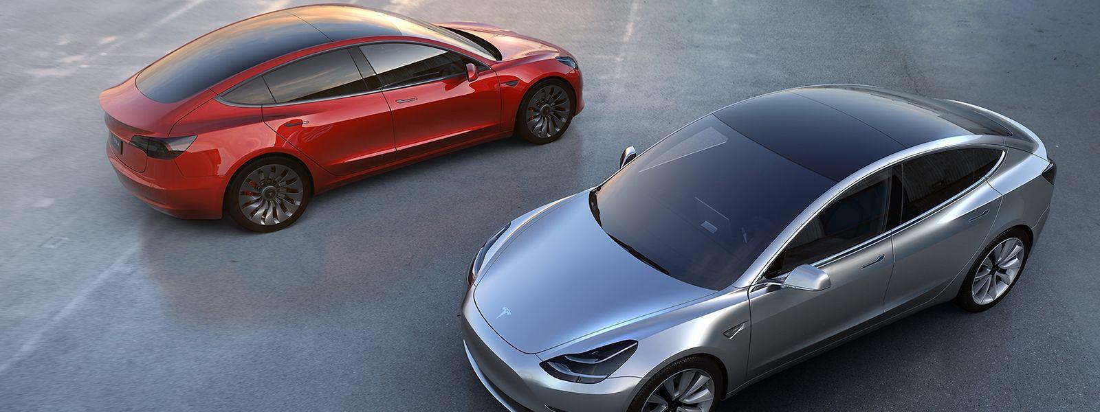 Mit dem Model 3 will Tesla die breite Masse erreichen.