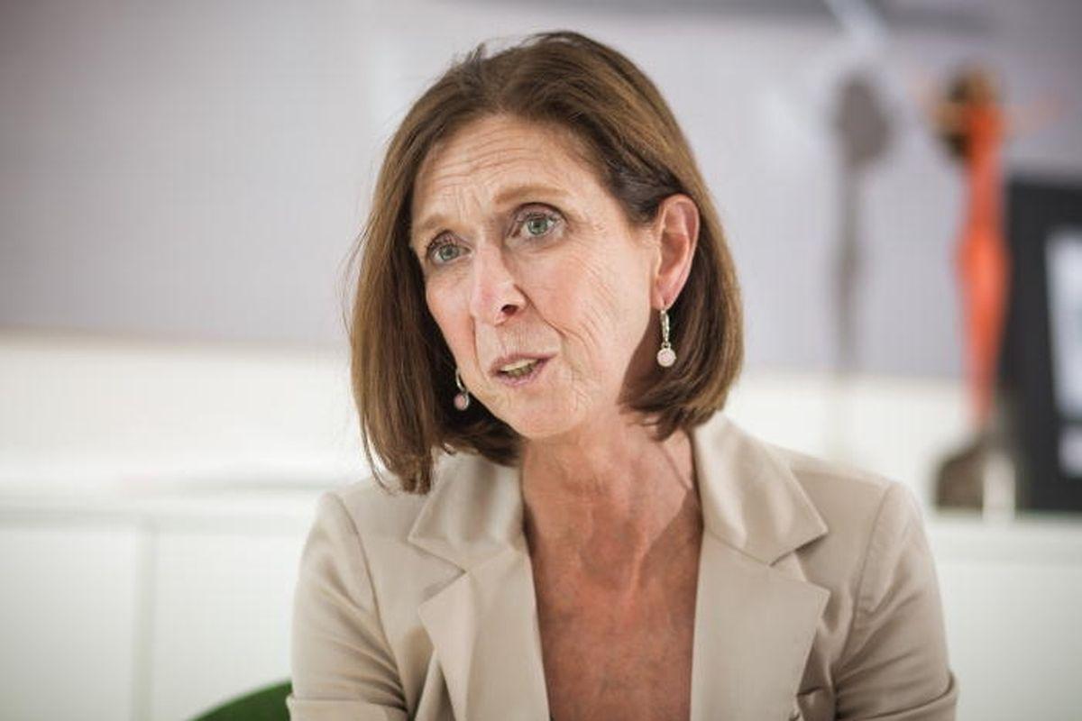 A ministra da Saúde Lydia Mutsch