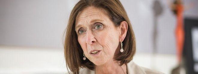 A ministra Lydia Mutsch