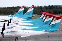 Wirtschaft, Luxair Flugzeuge, Findel, avions, foto: Chris Karaba/Luxemburger Wort